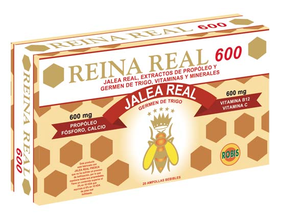 Jalea Real Reina Real 600, Royal Jelly Reina Real 600