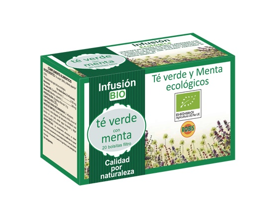 Green Tea With Mint BIO