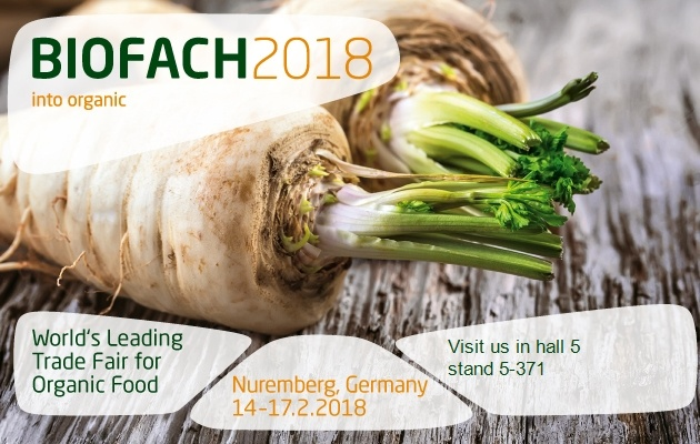 Robis In BIOFACH 2018, The Best Organic Products Fair