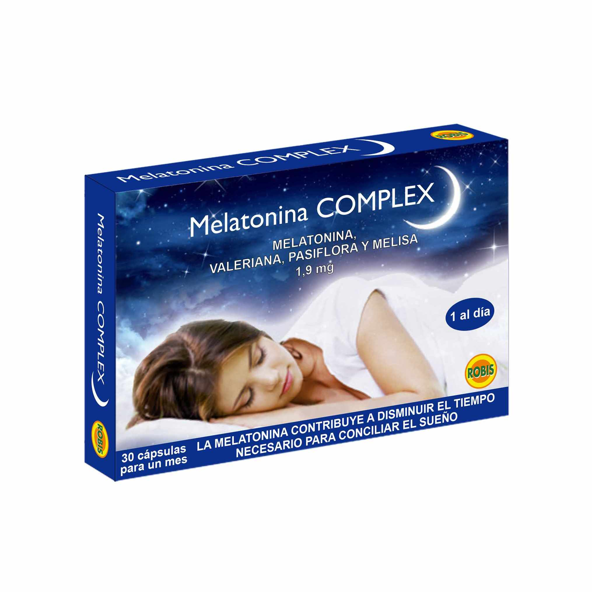 Melatonina Complex 1,9 Mg